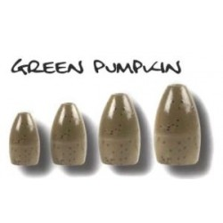 BFT Tungsten Bullet Weight Green Pumpkin 14 gr