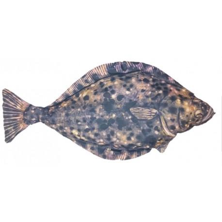 Fladen Mjukisfisk Hälleflundra 100 cm