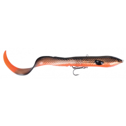 Savage Gear 3D Hard Eel Tail Bait 17 cm - Red Copper Black