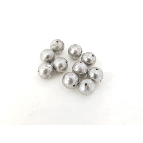 10-pack kulbly med hål, 8 gr