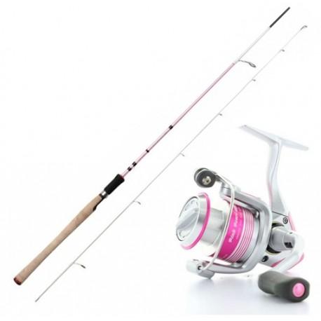 "Haspelset Okuma Pink Pearl 7'1"" 5-20 gr"