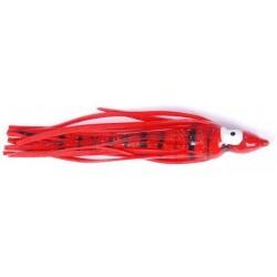 Bläckfisk röd/svart 9cm, 3-pack