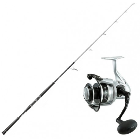 Okuma Azores Speed Jigging-set 6' 40-100 lbs