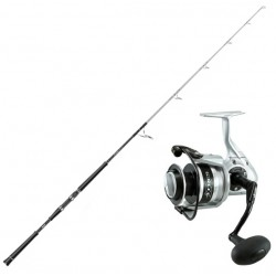 Okuma Azores Speed Jigging-set 6' 20-80 lbs