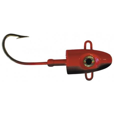 Bullet Head 500 gr - Röd/Svart