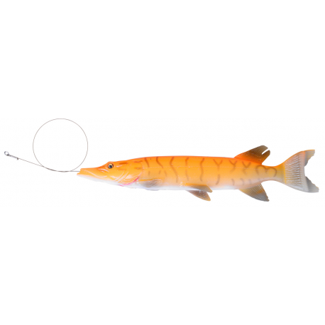 Savage Gear 3D Line Thru Pike 30 cm - Albino Pike