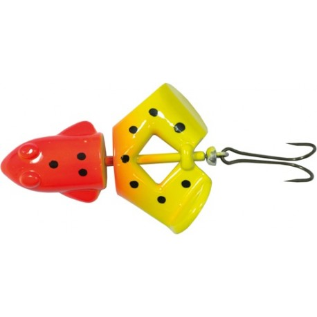 Kermit Buzzer 12,5 gr - Orange/Gul