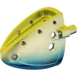 VK-Rax Small Löjskalle - Gold/Yellow/Blue (3-pack)