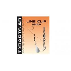 Darts Line Clip Snap