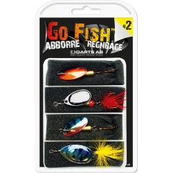 Darts Go Fish Dragset 2 - Abborre/Regnbåge