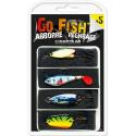 Darts Go Fish Dragset 5 - Abborre/Regnbåge