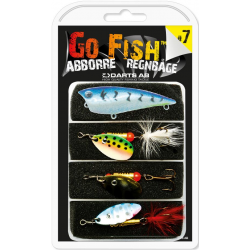 Darts Go Fish Dragset 7 - Abborre/Regnbåge