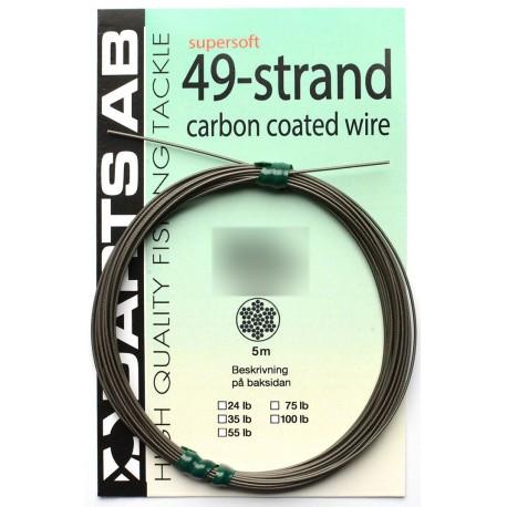 Darts 49-strand Coated Wire 25 kg - 5 m