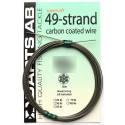 Darts 49-strand Coated Wire 25 kg - 5 m