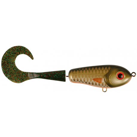 Wolf Tail Jr Shallow 16 cm - Golden Olive