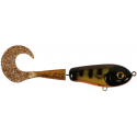 Wolf Tail Jr Shallow 16 cm - Black Okiboji Perch