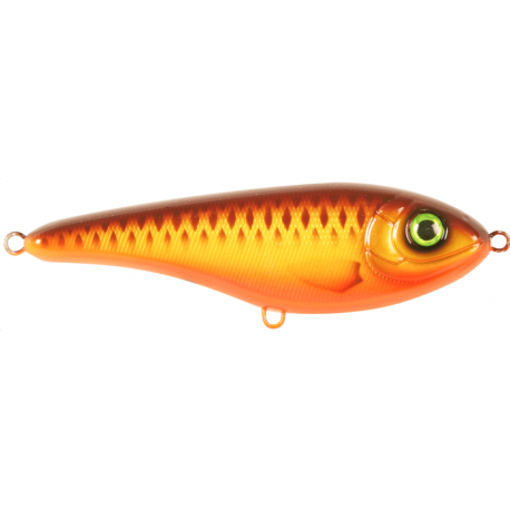Buster Jerk Shallow Runner 15 cm - Brown Parrot