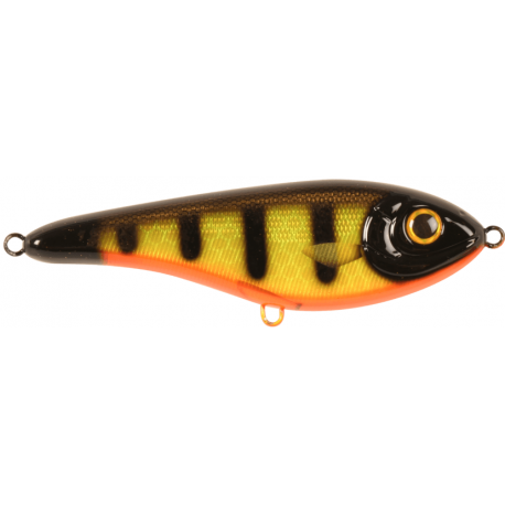 Buster Jerk 15 cm - Black Okiboji Perch