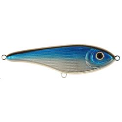 Buster Jerk 15 cm - Blue Chrome
