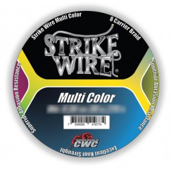 Strike Wire Multi Color X8 Flätlina - 0,41 mm