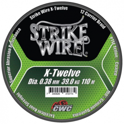 Strike Wire X-Twelve Flätlina 0,38 mm - 110 m