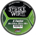 Strike Wire X-Twelve Flätlina 0,38 mm - 110 m