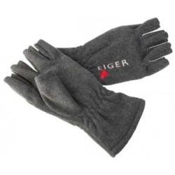 Eiger Fleece Glove Half Fingers - M