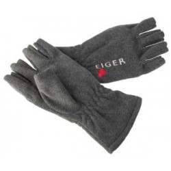 Eiger Fleece Glove Half Fingers - XL