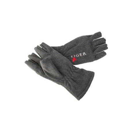 Eiger Fleece Glove Half Fingers - XL