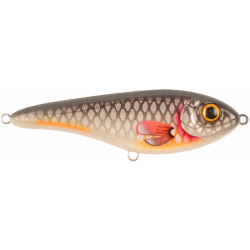 Buster Jerk Shallow Runner 15 cm - Gray Roach