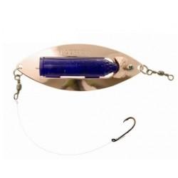 Eldorado blinkpirk 85 mm, Koppar/blå