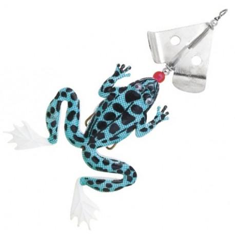 Fladen Spinning Frog 13 cm - White/Black