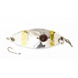 Eldorado rödingblänke 60 mm, Silver/pärla
