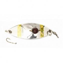 Eldorado rödingblänke 70 mm, Silver/pärla