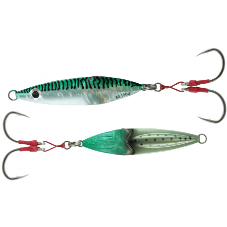 Savage Gear Squish Jig 130 gr - Green Mackerel