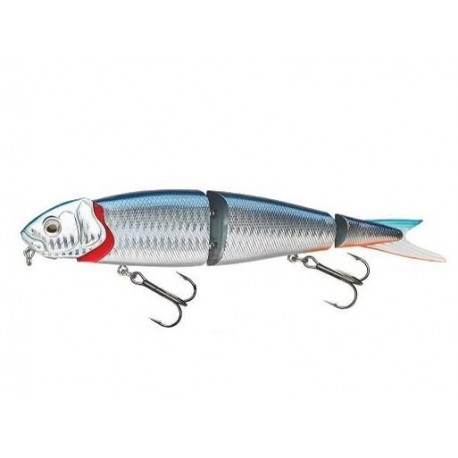 4Play Herring Swim and Jerk, 13 cm SS - Blue Silver