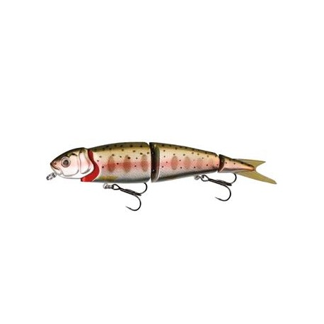 4Play Herring Swim and Jerk, 13 cm, Rainbow Smolt