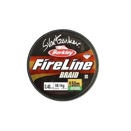 Fireline SvartZonker Braid 150 m - 0,14 mm
