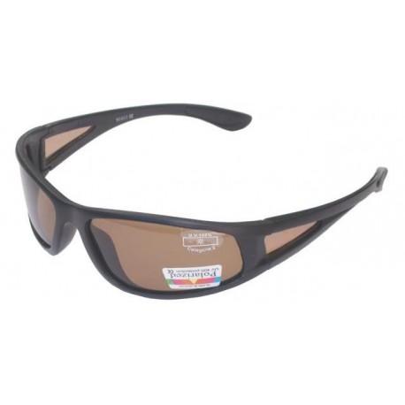 Fiskeglasögon, polariserande med brun lins