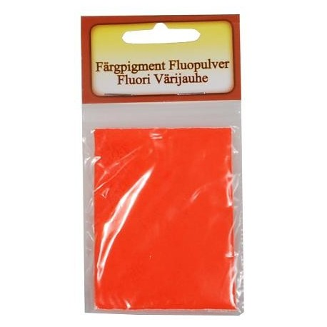 Fluopulver 10 ml - Orange