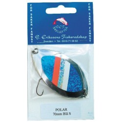 G. Erikssons Polar 70 mm - Silver/blå
