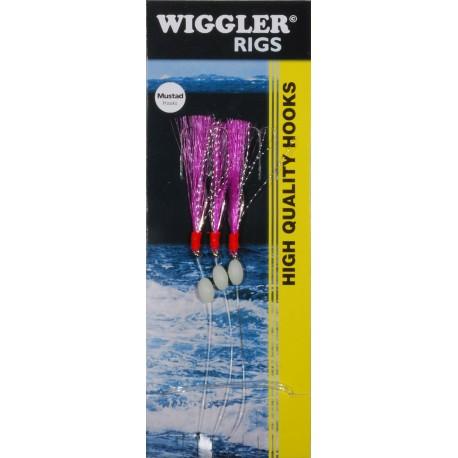 Wiggler Häcklor Flasher Lila 3/0