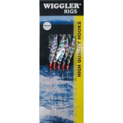 Wiggler Häcklor Silver Flasher 3/0
