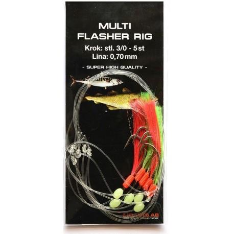Darts Multi Flasher Rig 3/0