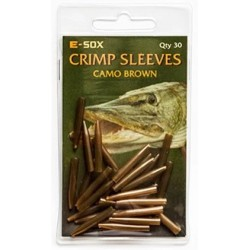 E-Sox Crimp Sleeves - Camo Brown