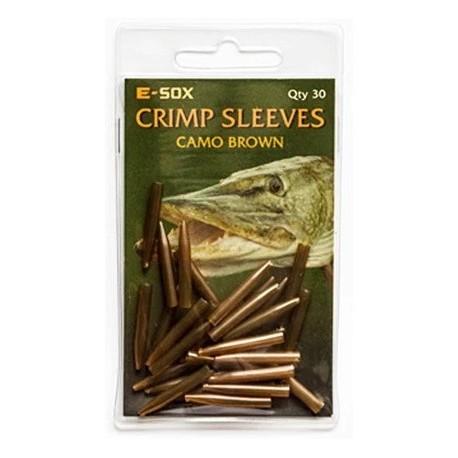 E-Sox Crimp Sleeves - Camo Brown