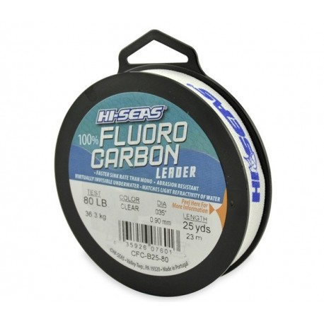 Hi-Seas Fluorcarbon 0,35 mm, 23 m