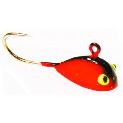 Wiggler Rippy Mormyska 3,5 gr - Röd