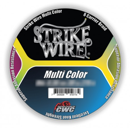 Strike Wire Multi Color X8 Flätlina 275 m - 0,32 mm