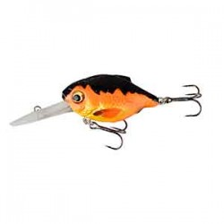 Savage Gear 3D Crucian Crank 46 Vobbler - Black & Orange